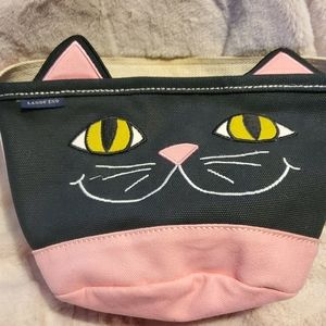 Cute little canvas kitty tote